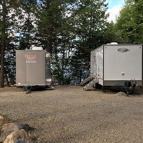 view of portable showers